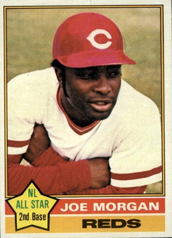 1976 Topps #420 Joe Morgan