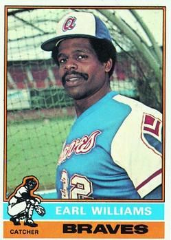 1976 Topps #458 Earl Williams