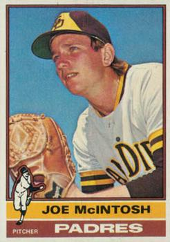 1976 Topps #497 Joe McIntosh RC