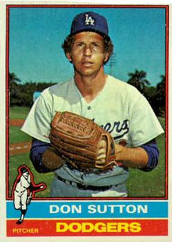 1976 Topps #530 Don Sutton