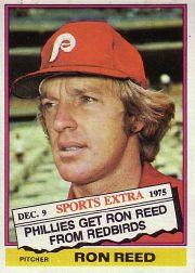 1976 Topps Traded #58T Ron Reed