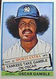 1976 Topps Traded #74T Oscar Gamble