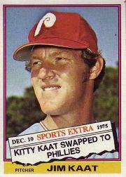 1976 Topps Traded #80T Jim Kaat