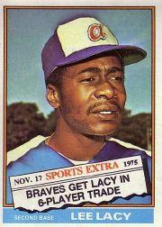 1976 Topps Traded #99T Lee Lacy