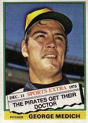 1976 Topps Traded #146T George Medich