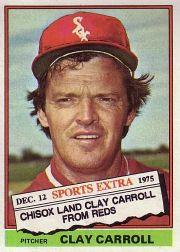 1976 Topps Traded #211T Clay Carroll