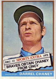 1976 Topps Traded #259T Darrel Chaney