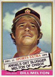 1976 Topps Traded #309T Bill Melton