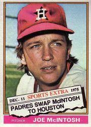 1976 Topps Traded #497T Joe McIntosh