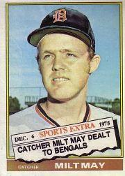 1976 Topps Traded #532T Milt May
