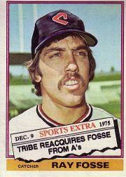 1976 Topps Traded #554T Ray Fosse