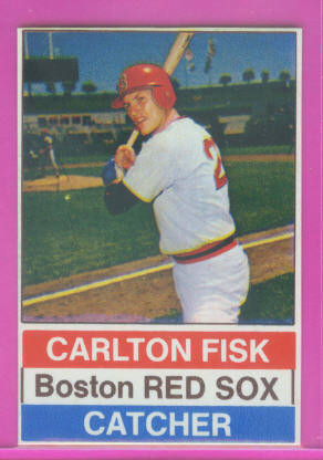 1976 Hostess #64 Carlton Fisk SP