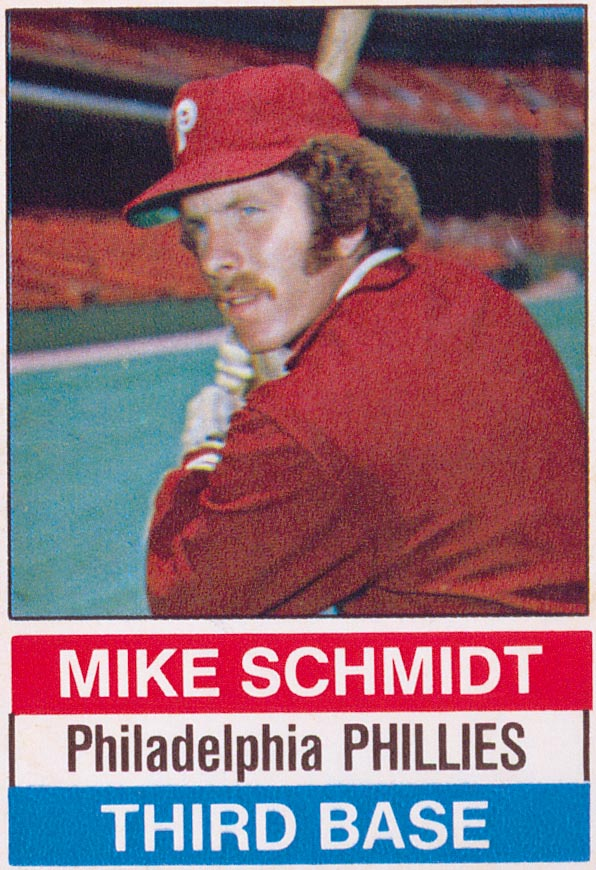 1976 Hostess #84 Mike Schmidt