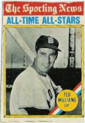 1976 O-Pee-Chee #347 Ted Williams ATG