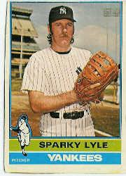 1976 O-Pee-Chee #545 Sparky Lyle