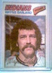 1977 Topps Cloth Stickers #17 Wayne Garland