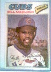1977 Topps Cloth Stickers #25 Bill Madlock