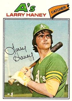 1977 Topps #12 Larry Haney