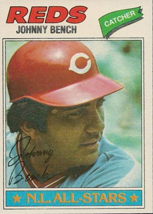 1977 Topps #70 Johnny Bench