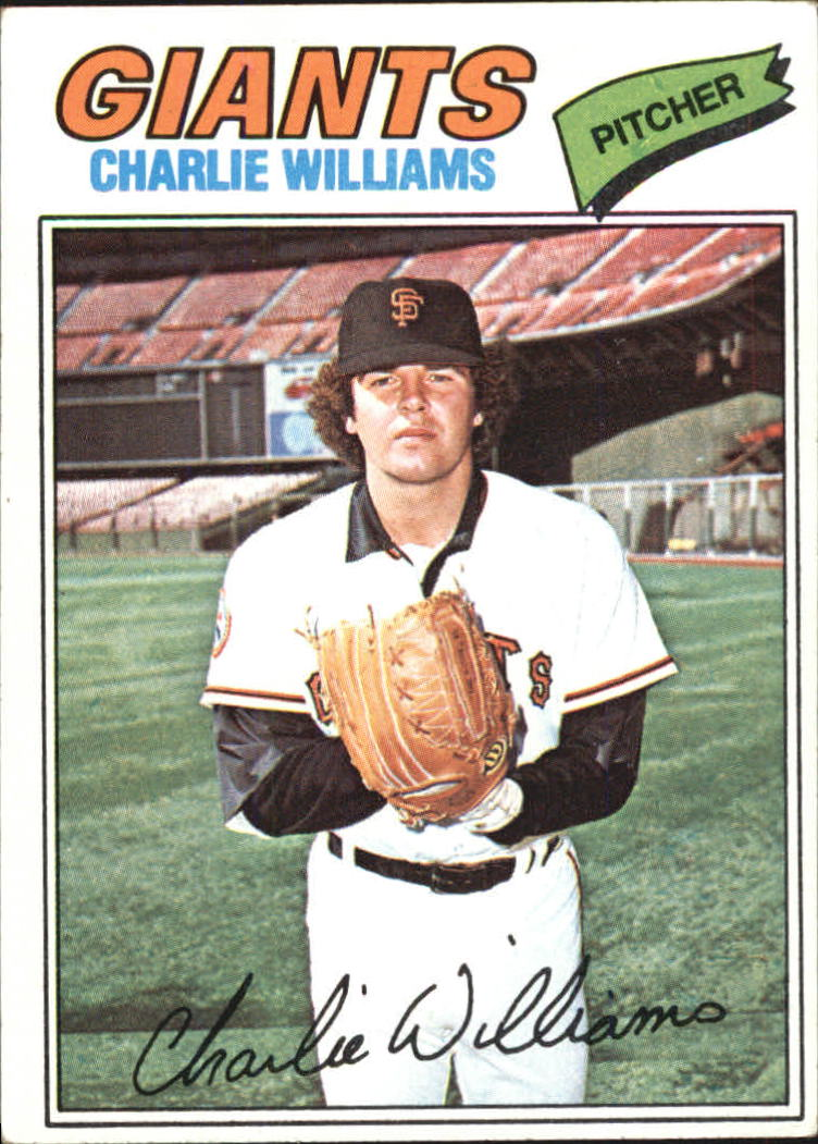 1977 Topps #73 Charlie Williams