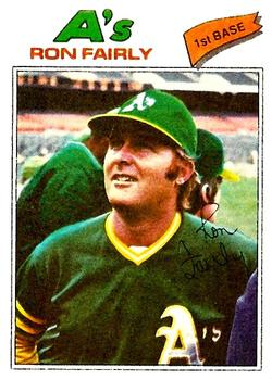 1977 Topps #127 Ron Fairly