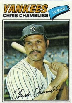 1977 Topps #220 Chris Chambliss