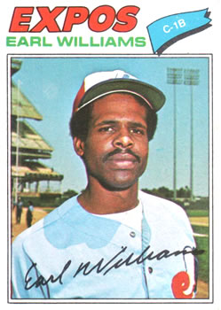 1977 Topps #223 Earl Williams