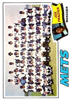 1977 Topps #259 New York Mets CL/Joe Frazier MG