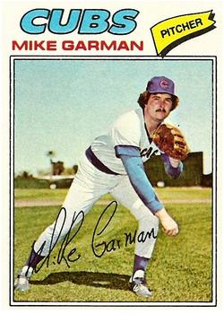 1977 Topps #302 Mike Garman