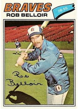 1977 Topps #312 Rob Belloir RC