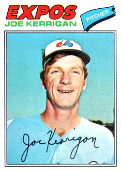 1977 Topps #341 Joe Kerrigan RC