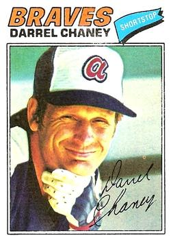 1977 Topps #384 Darrel Chaney