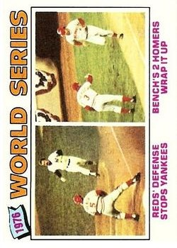 1977 Topps #412 World Series/Johnny Bench