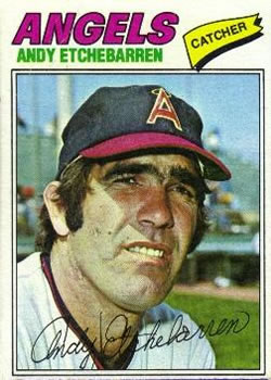1977 Topps #454 Andy Etchebarren