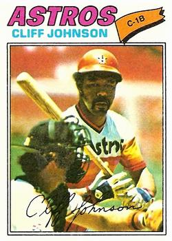 1977 Topps #514 Cliff Johnson