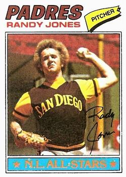 1977 Topps #550 Randy Jones