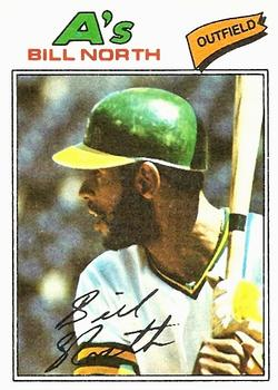 1977 Topps #551 Bill North