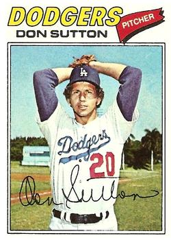 1977 Topps #620 Don Sutton