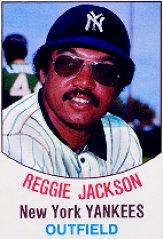 1977 Hostess #3 Reggie Jackson