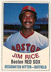 1977 Hostess #23 Jim Rice SP