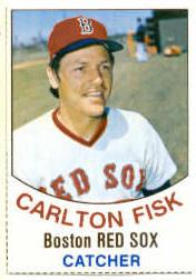1977 Hostess #104 Carlton Fisk