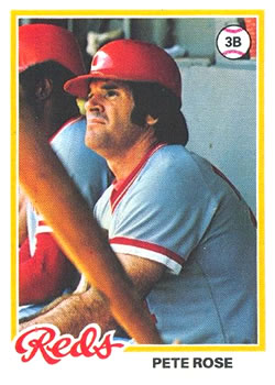 1978 Topps #20 Pete Rose DP