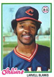 1978 Topps #61 Larvell Blanks