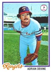 1978 Topps #92 Adrian Devine