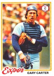 1978 Topps #120 Gary Carter
