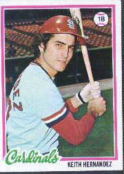 1978 Topps #143 Keith Hernandez