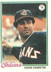 1978 Topps #148 Andre Thornton