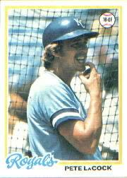 1978 Topps #157 Pete LaCock DP