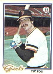 1978 Topps #167 Tim Foli