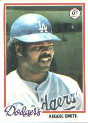 1978 Topps #168 Reggie Smith